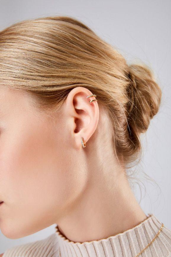 ALVA 双圈耳夹