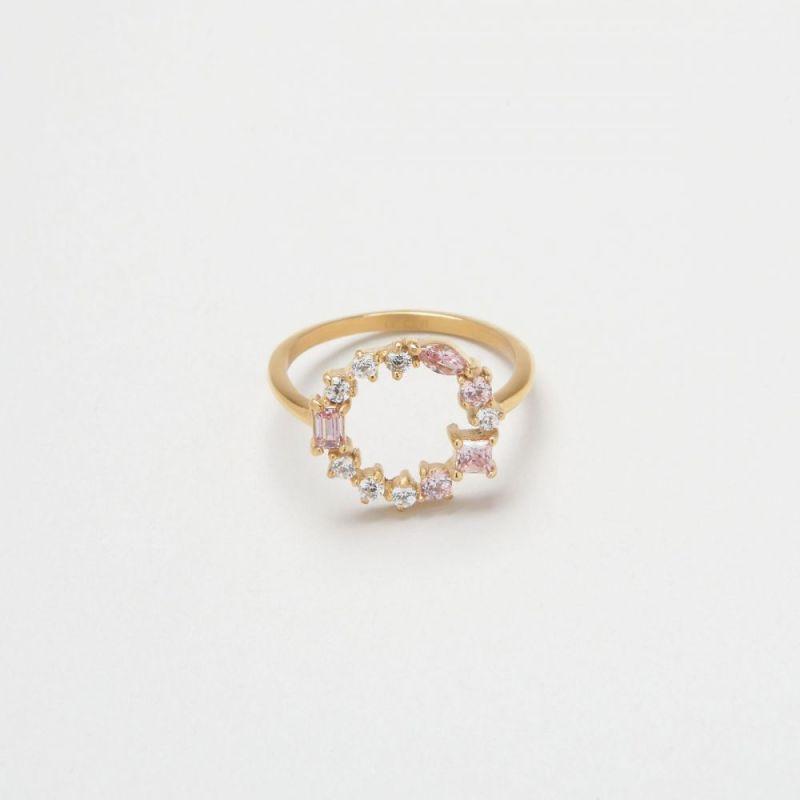 摩根石宝石簇戒指