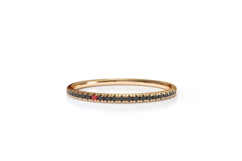 SOFIA戒指(黑)
