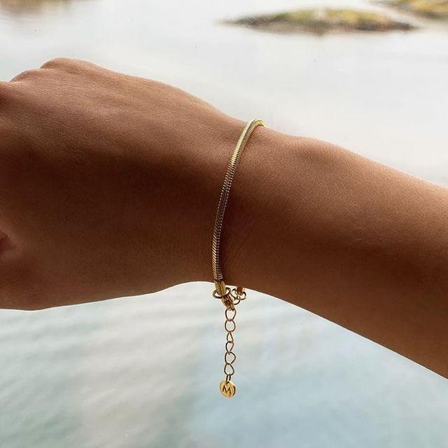 Square Snake bracelet chain